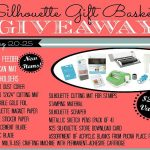 Silhouette Gift Basket Giveaway!!
