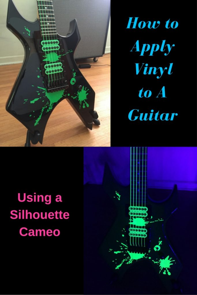 How to Apply Vinyl to A Guitar